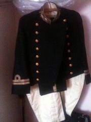 парадную японскую офицерскую форму 1874 г