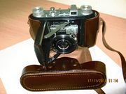 фотоаппарат Welta Welti №2507 Carl Zeiss Jena Tessar 1:3, 5 Р5сm1939-44